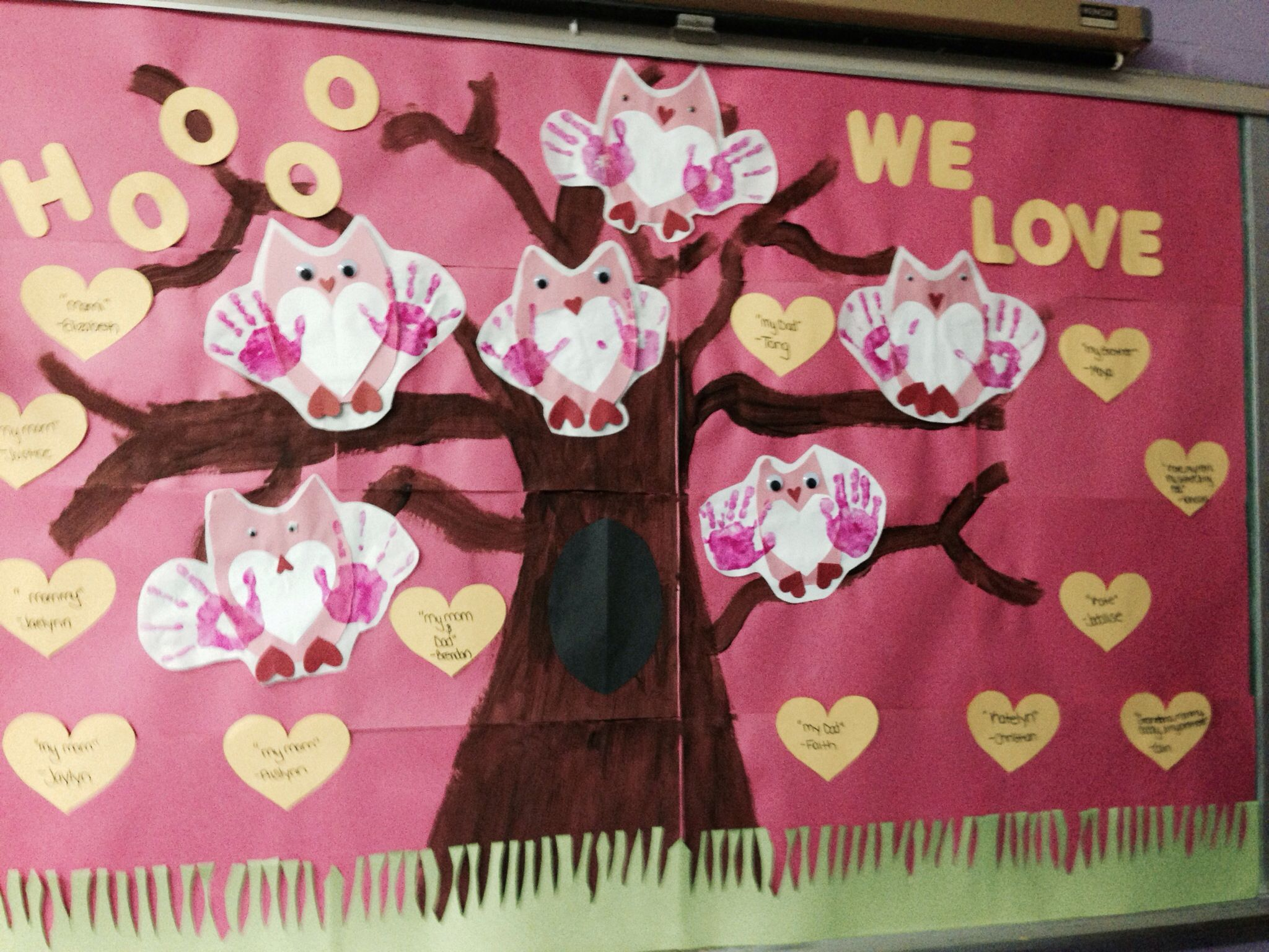 valentines day bulletin board | bulletin board ideas | pinterest