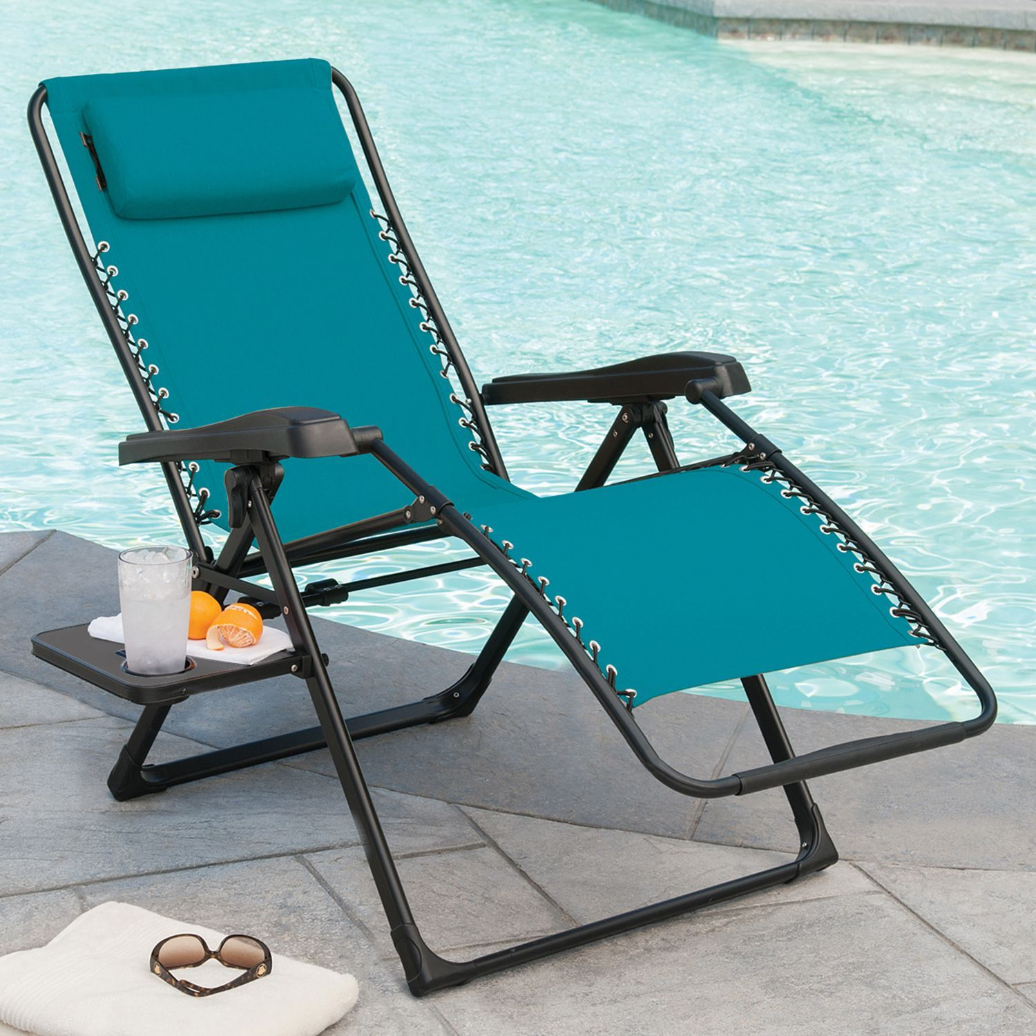 Members Mark Xl Sunbrella Reclining Chair Teal Sam S Club Gravity Chair Members Mark Outdoor Daybed