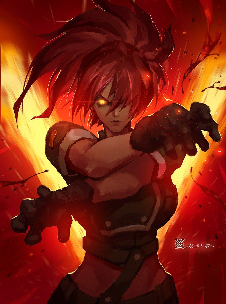Ulkhror On Twitter King Of Fighters Street Fighter Art Art Of Fighting Anime fighting game wallpaper