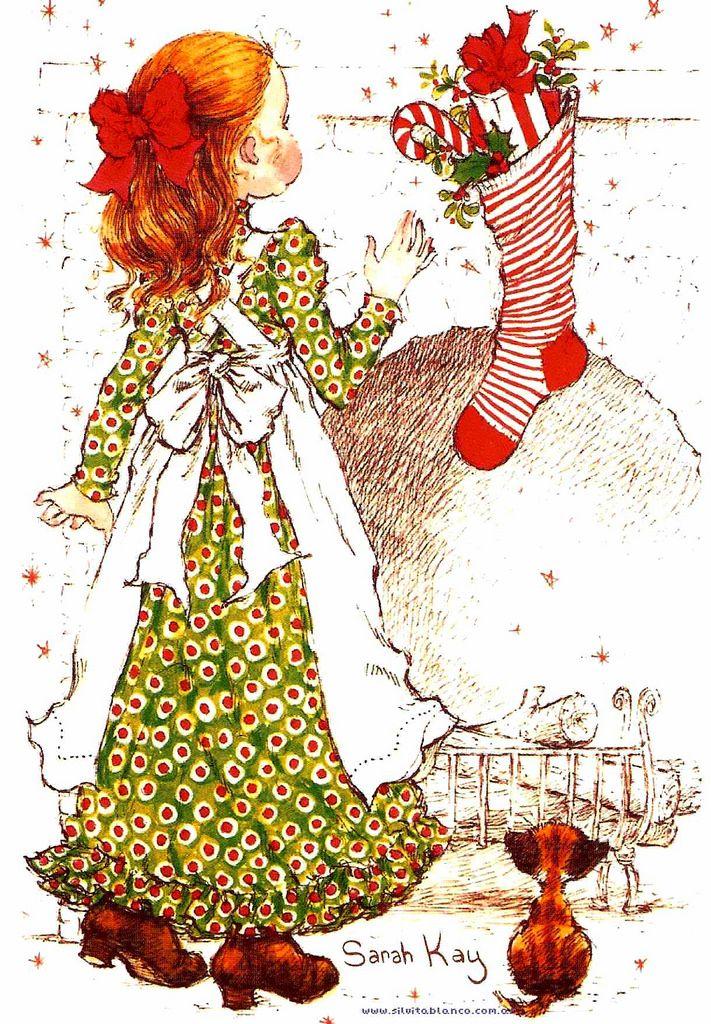 Мобильный LiveInternet Рождественско-новогодние зимние иллюстрации Сары Кей…