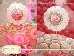 Resultado de imagem para imagem de toppers para decoração de festa tema flores