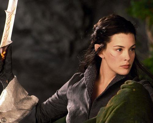Arwen, guerreira