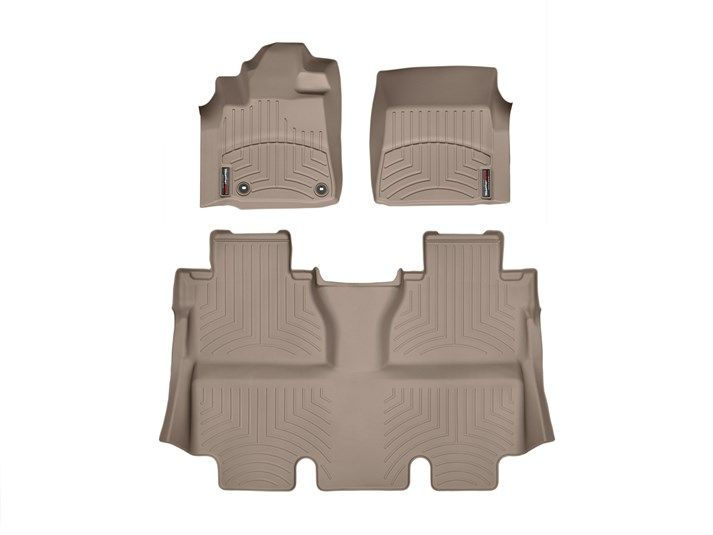 2014 Toyota Tundra Weathertech Floorliner Custom Fit Car Floor Protection From Mud Water Sand And Salt Toyota Tundra Crewmax Weather Tech Tundra Crewmax