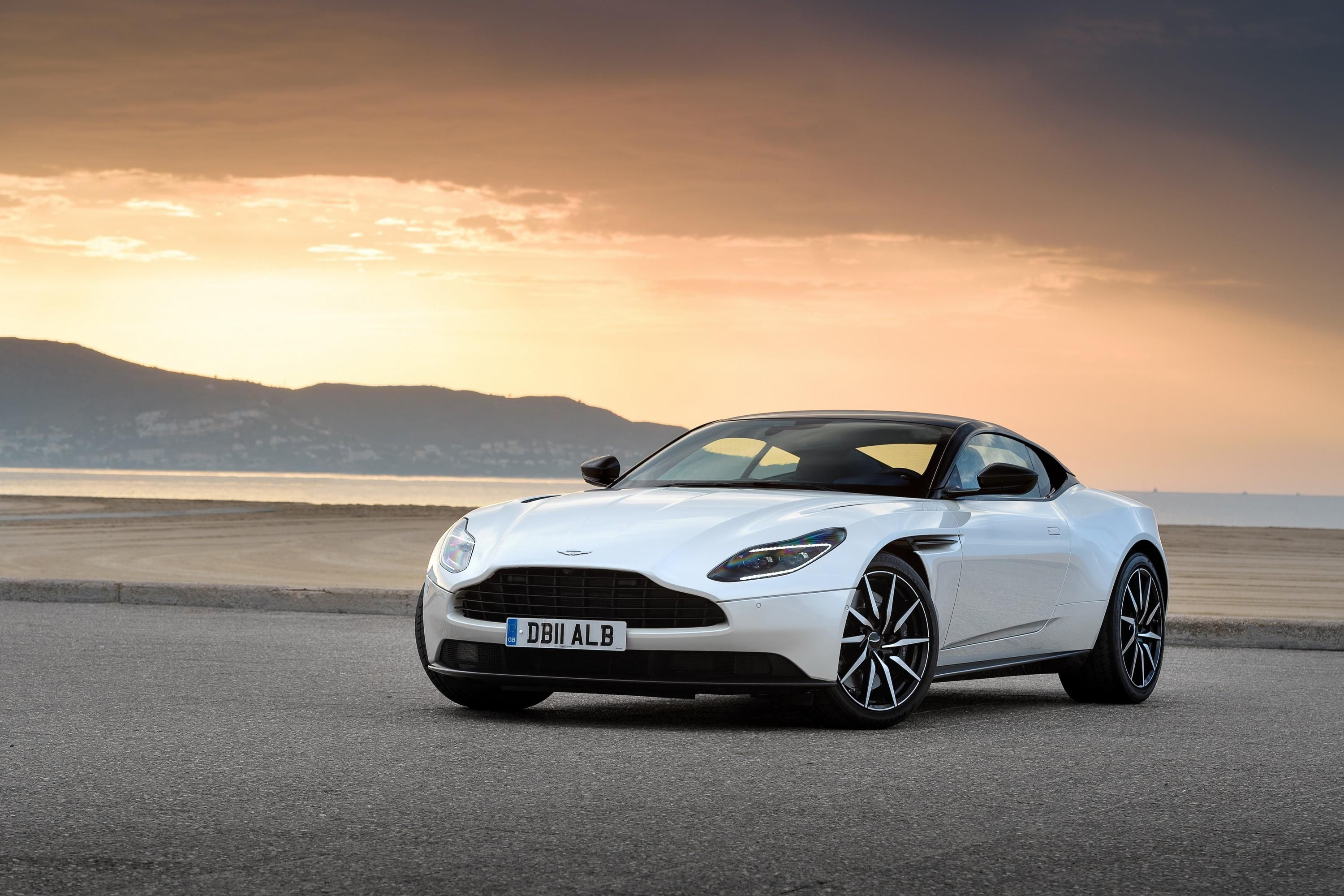 Aston s latest DB11 has fewer cylinders but all the great looks