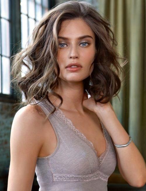 25 Magnifiques Modèles de cheveux Mi-longs (mit Bildern)   Frisuren