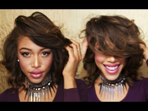 Short Flat Iron Hairstyles Endearing Flat Iron Curls Super Easy Once You Get The Hang Of It  Flat