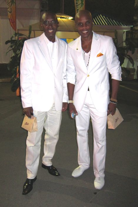 Real Style Style Week Jamaica S All White Party All White Party White Party Real Style