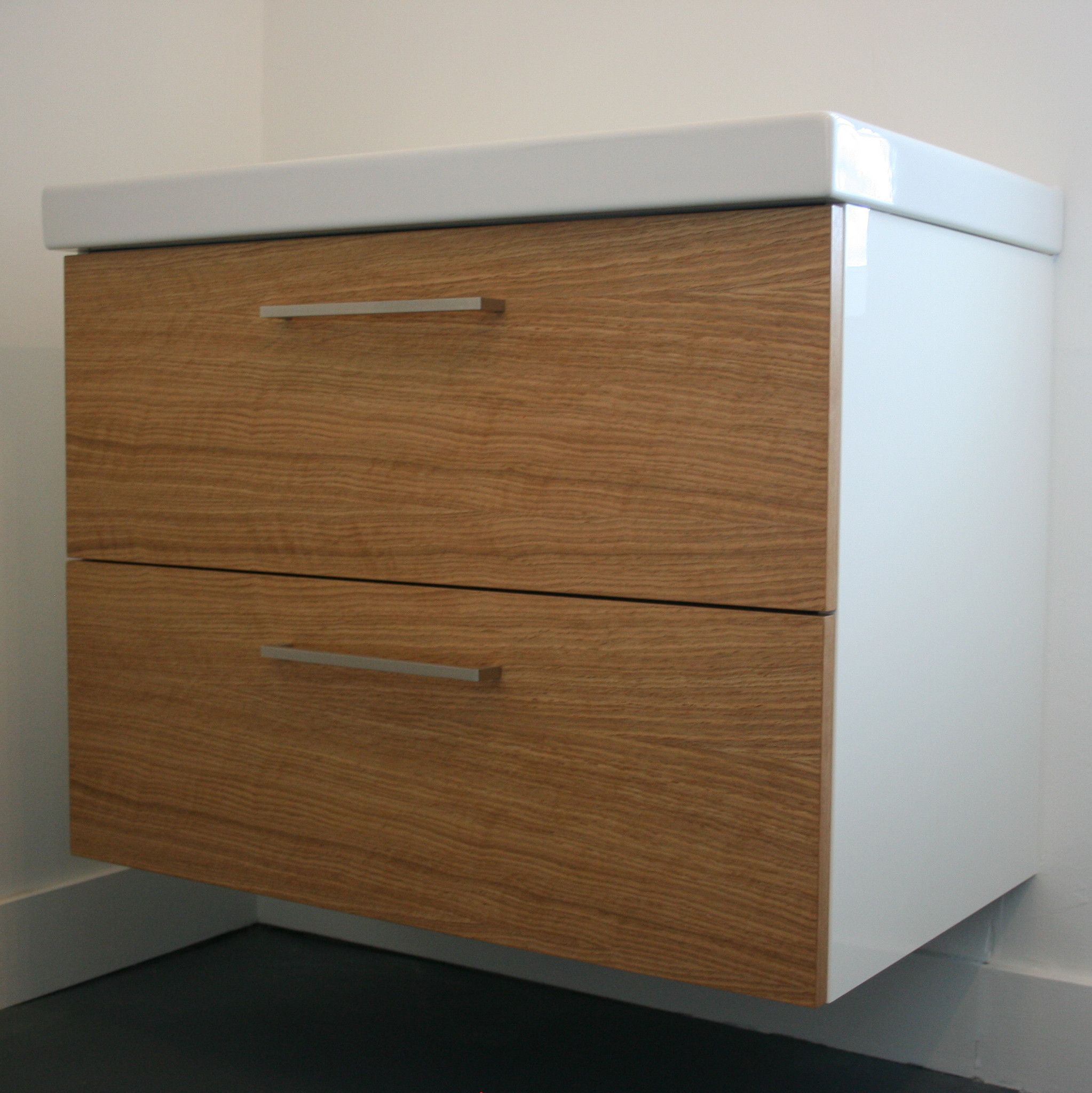 Oak godmorgon custom fronts for ikea cabinets b a t h r o o m s oak godmorgon custom fronts for ikea cabinets eventshaper