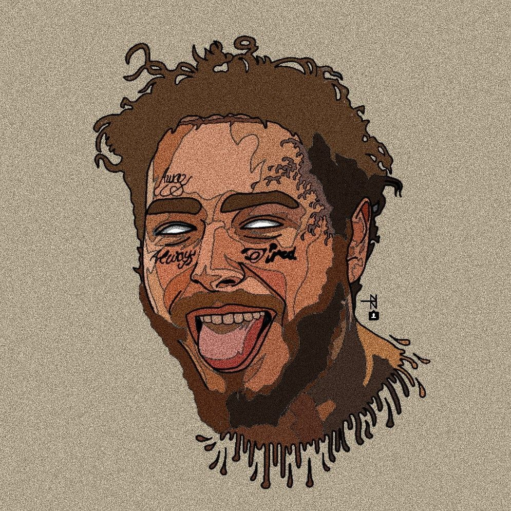 Post Malone postmalonewallpaper (With images) Rapper