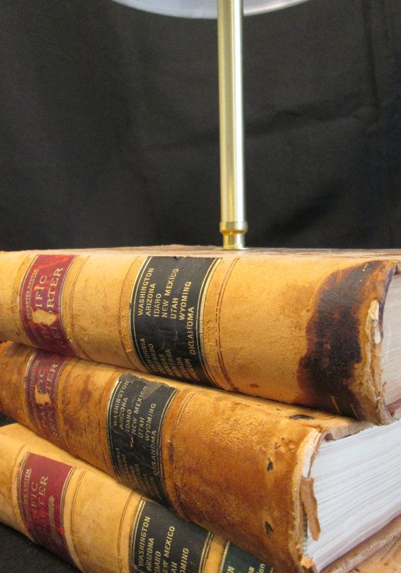 Wouldnu0027t You Love This Wonderful Antique Book Lamp On Your Desk? Or Your