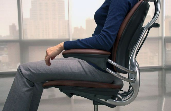 Freedom Task Chair With Headrest Weird Shaped Chairs Ergonomic Seating From Humanscale