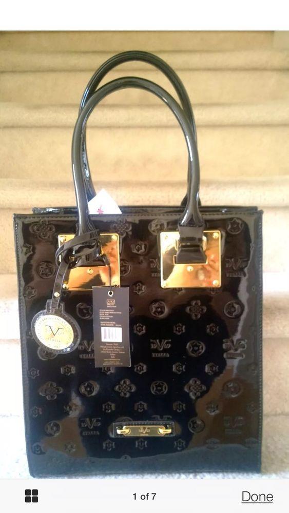 Nice Versace 1969 Abbigliamento Sportivo SRL Italy Desia Tote Handbag | eBay