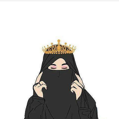Kumpulan Kartun Hijab Muslimah Cute Jutaan Gambar Girl Cartoon Girls Cartoon Art Hijab Cartoon