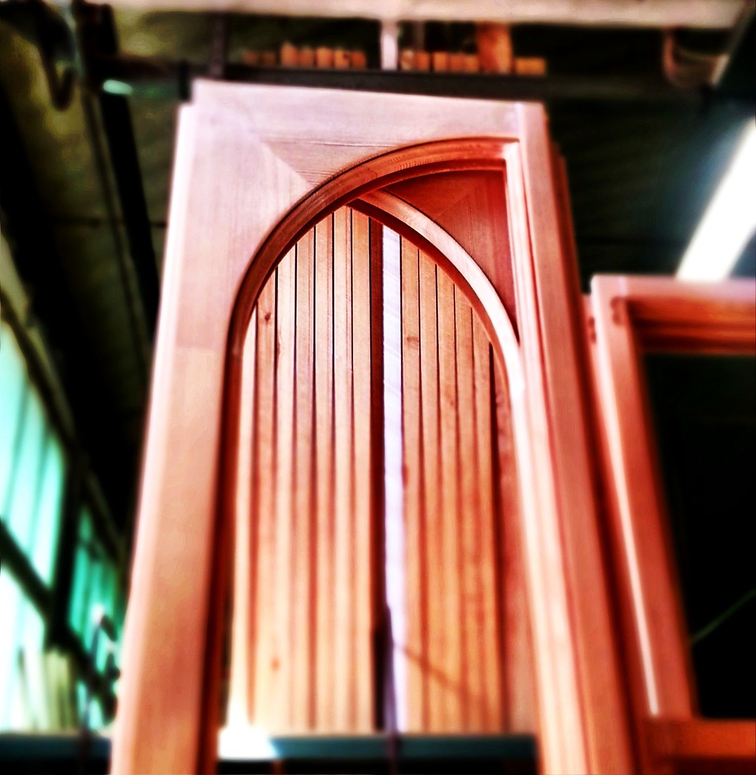 Arched windows ready for paintings!