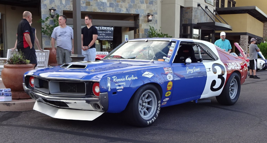 Craig Jackson's '69 AMC Javelin Trans Am Race Car