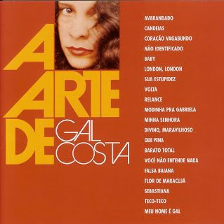 A Arte de Gal Costa, 1989