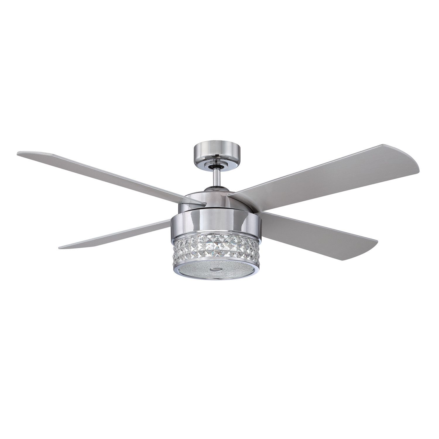 "Kendal Lighting 52"" Celestra 4 Blade Celling Fan with Wall Remote"