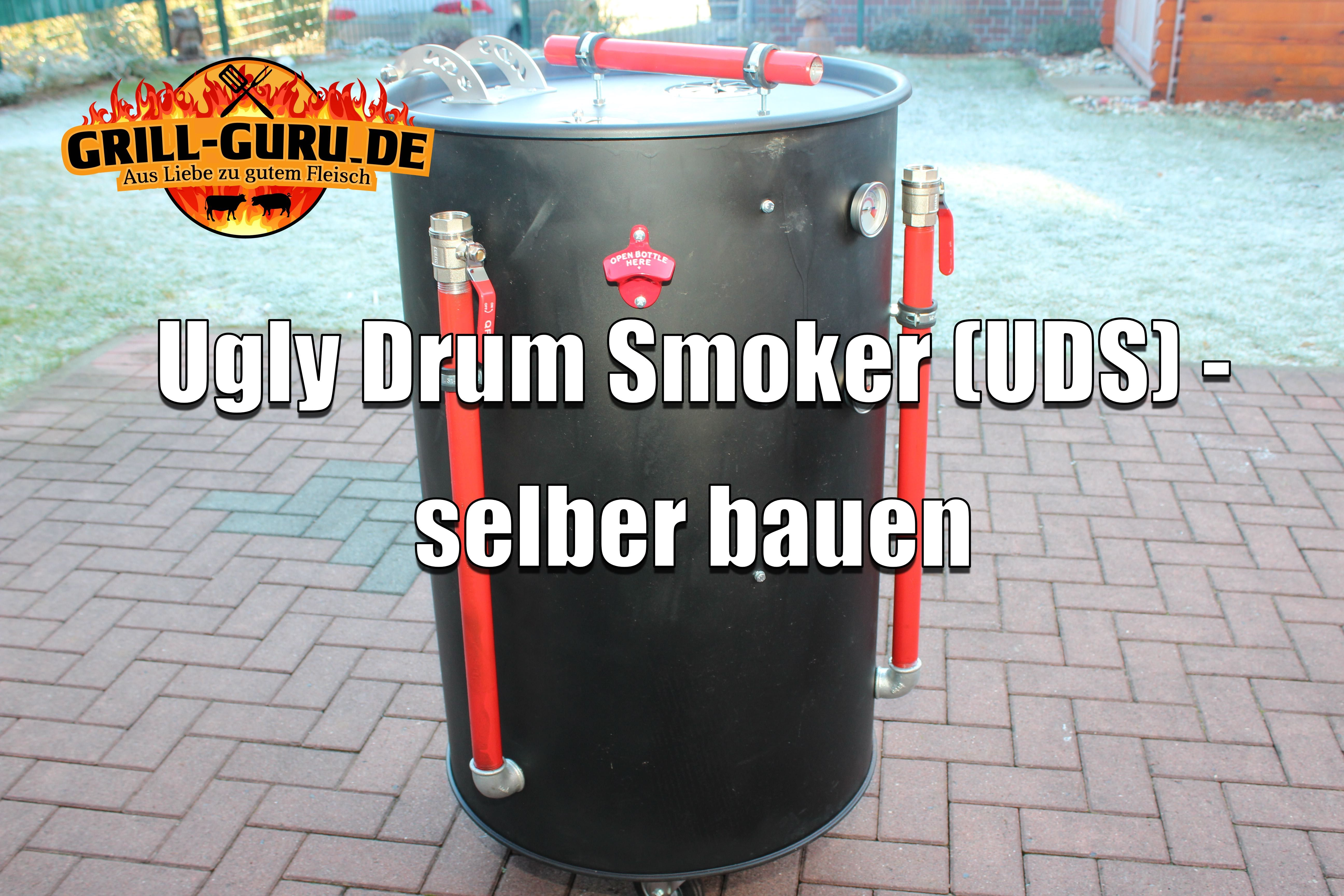 Ugly Drum Smoker - selber bauen | Ugly drum smoker, Drum smoker and ...