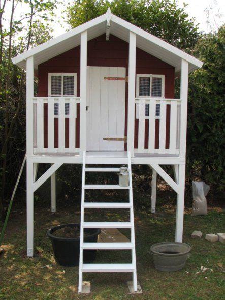 Perfect Garten uSpielhaus Villa Villekulla u