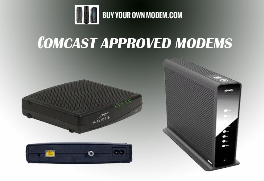 Shop For Comcast Approved Modems At Best Price We Provide A List Of Several Comcast Approved Modems That Are Cable Modem Compatible Modems Cable Modem Comcast