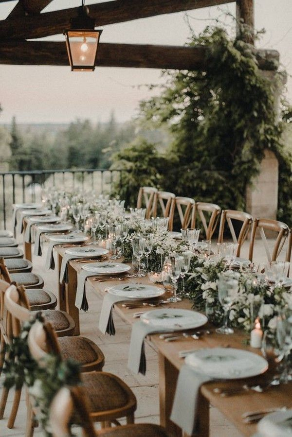 15 Elegant Wedding Reception Ideas to Love - EmmaLovesWeddings #weddingreception