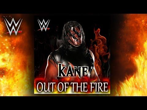 Wwe Out Of The Fire Kane Theme Song Ae Arena Effect Youtube Theme Song Songs Wwe Music
