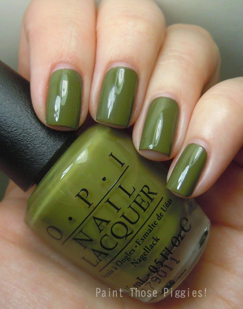 OPI Uh-oh Roll Down the Window by Paint Those Piggies! | uñas ...