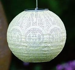 Check Out The Deal On Soji Solar Stella Outdoor Globe Lantern Pearl At Battery Operated Candles