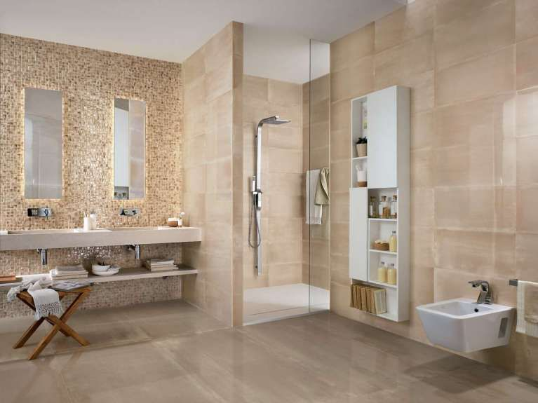 Piastrelle bagno moderno bath