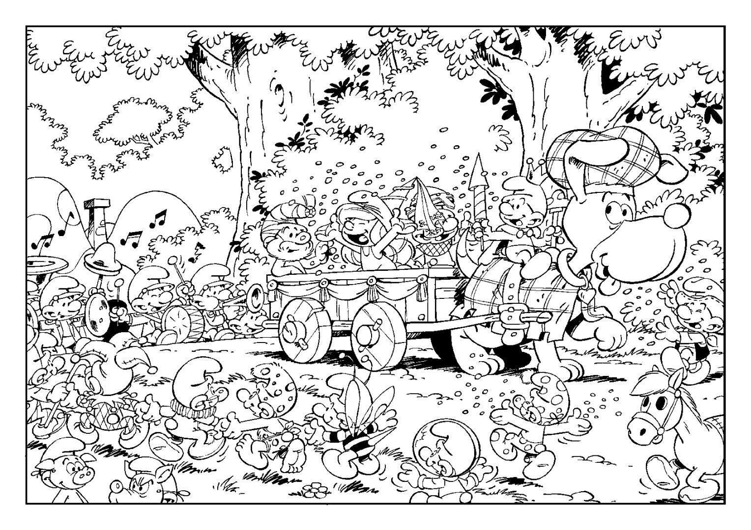Smurf Coloring Smurf Coloring Smurf Coloring Book Smurf Coloring Book Pdf Printable Christmas Coloring Pages Christmas Coloring Pages Smurfs Coloring Pages