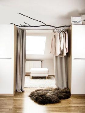 Ast Kleiderstange Wohnungsideen Stauraum Schrank Schlafzimmer