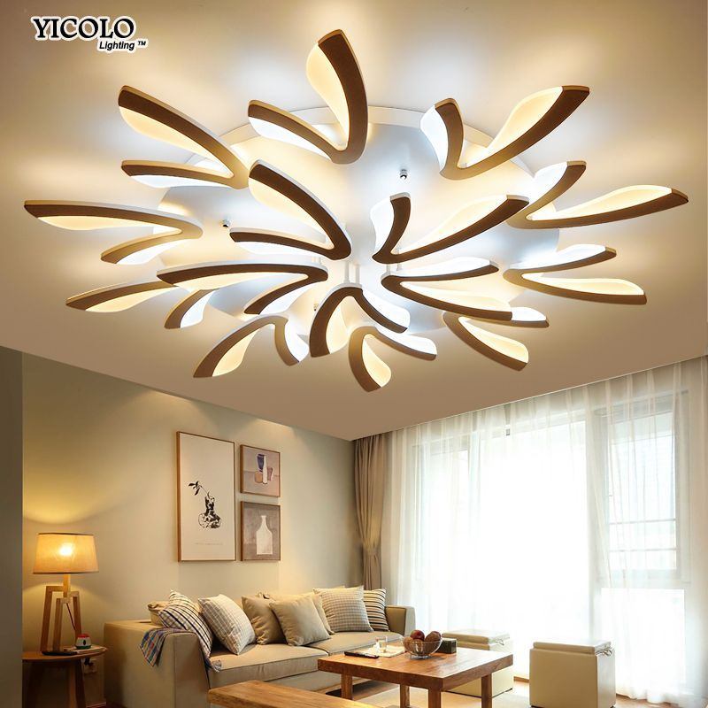 Modern Led Ceiling Lights Quality Directly From China Light For Living Room Suppliers Acrylic