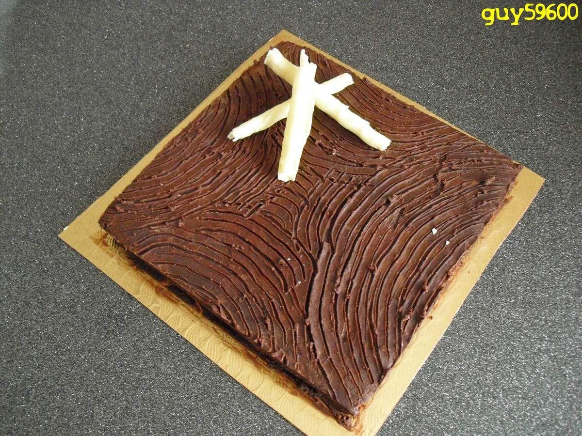 """Le gâteau au chocolat-mascarpone de Guy du blog """"Guy59600"""""""