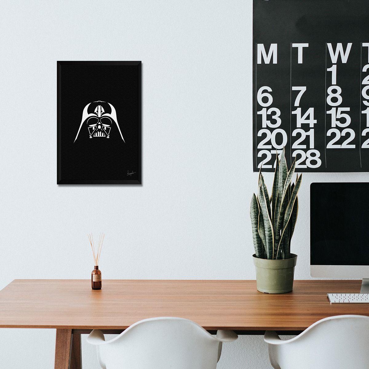 Quadro Darth Vader - veja esse lindo quadro na nossa loja, decore os seus ambientes e deixe eles mais agradaveis. #geek #filmes #decoracao #quadros #quadrodecorativos #decoracaodecasa #casa #casaejardim #quadro #dathvader #starwars