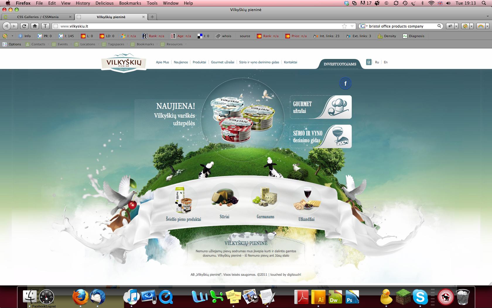 Website Inspiration - January 2012