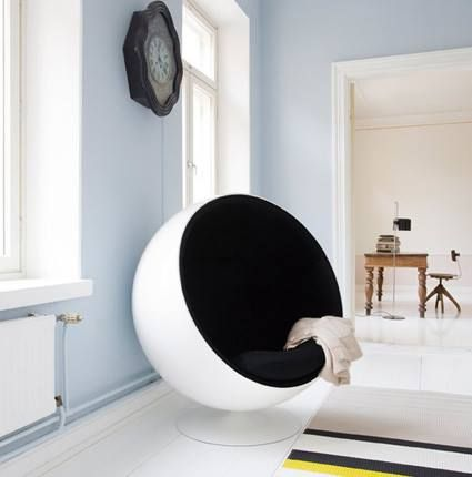 "Una silla ""muy acogedora"" ;)"