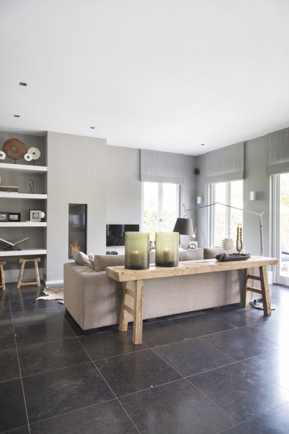 Luxe woonkamer ontwerp met design meubels | jardin | Pinterest ...