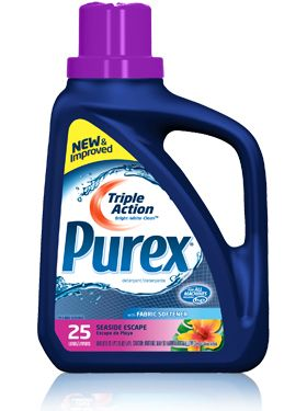 Discontinued Product Purex Triple Action Liquid Detergent With