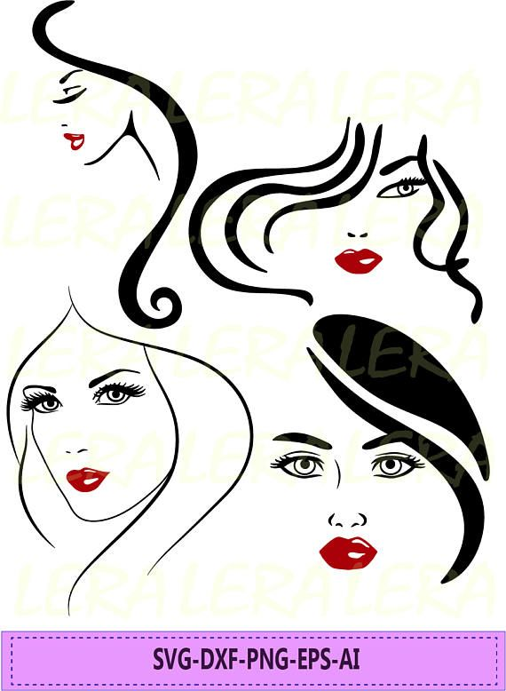 60 Off Women Face Svg Woman Silhouette Png Eps Svg Dxf Etsy In 2020 Woman Face Woman Silhouette Modern Art Paintings Abstract