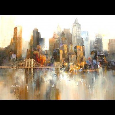 Peintre Wilfred à la galerie Autour d\'un cadre - AUTOUR D\'UN CADRE ...