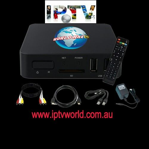 World Max TV Quad Core Android Box- turn your TV into Smart