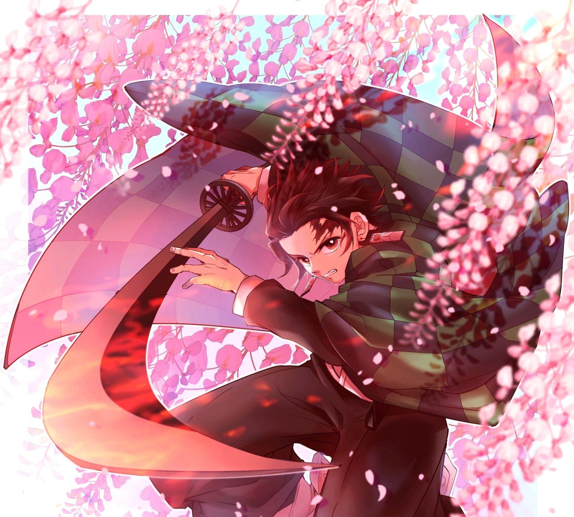 Beautiful Anime Demon Slayer Kimetsu No Yaiba Tanjirou Kamado Anime Demon Slayer Anime Anime