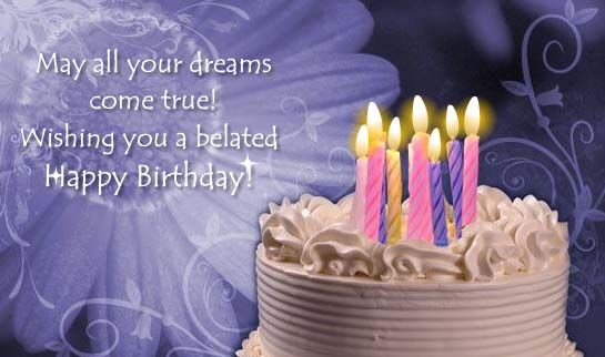 Belated Birthday Wishes For Brother In Law ~ Sweet ecard from an old friend quotables pinterest happy