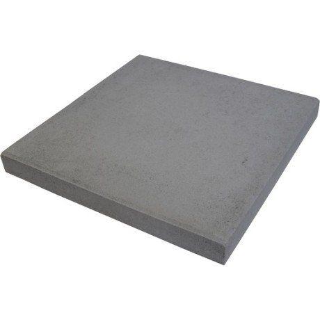 Dalle béton Provençale, gris foncé, L50 x l50 cm x Ep50 mm Nous