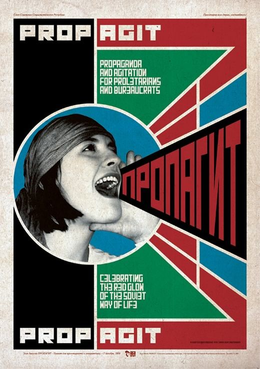 Propagit - Propaganda and Agitation Posters