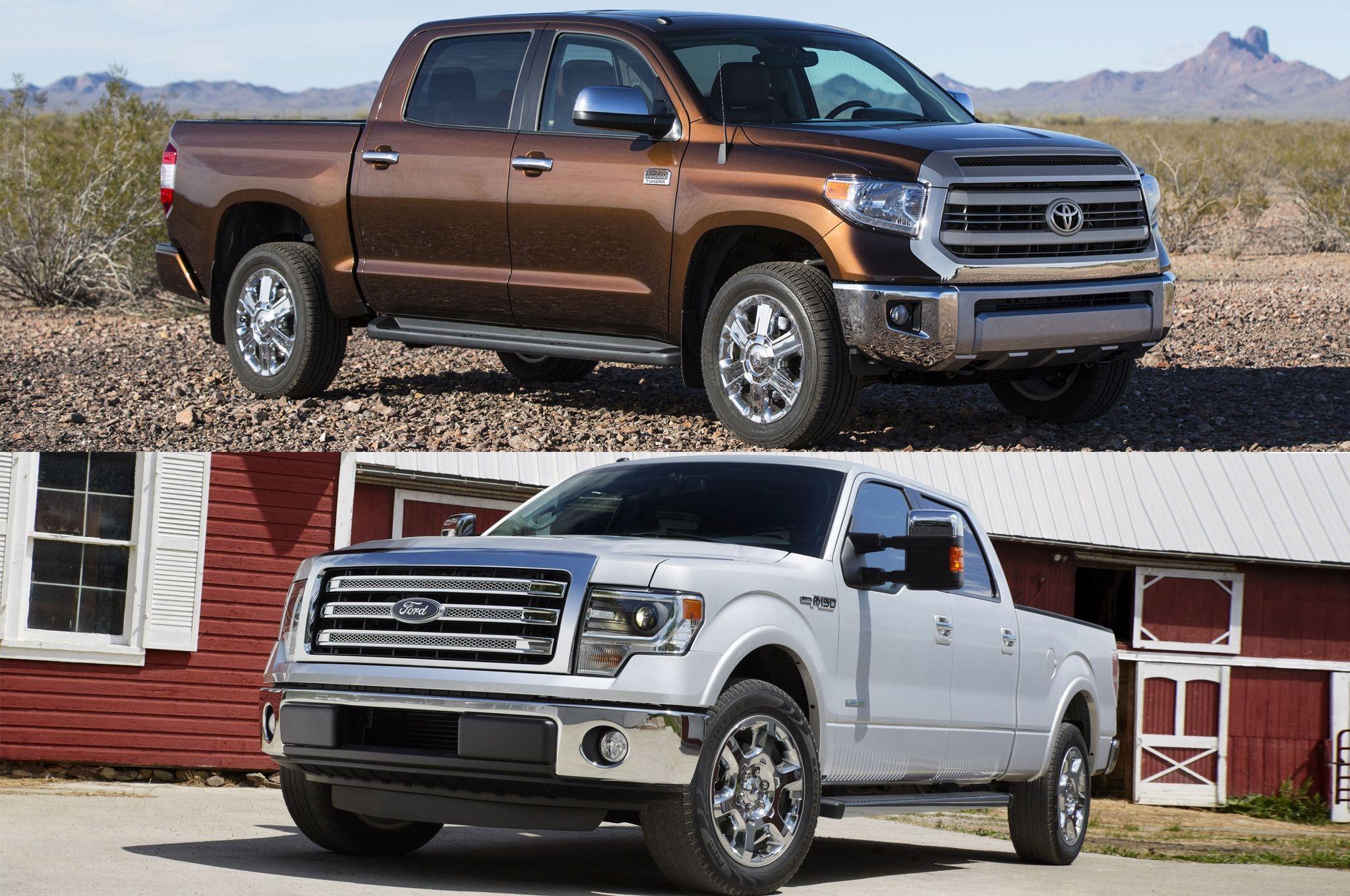 2014 ford f 150 vs 2014 toyota tundra