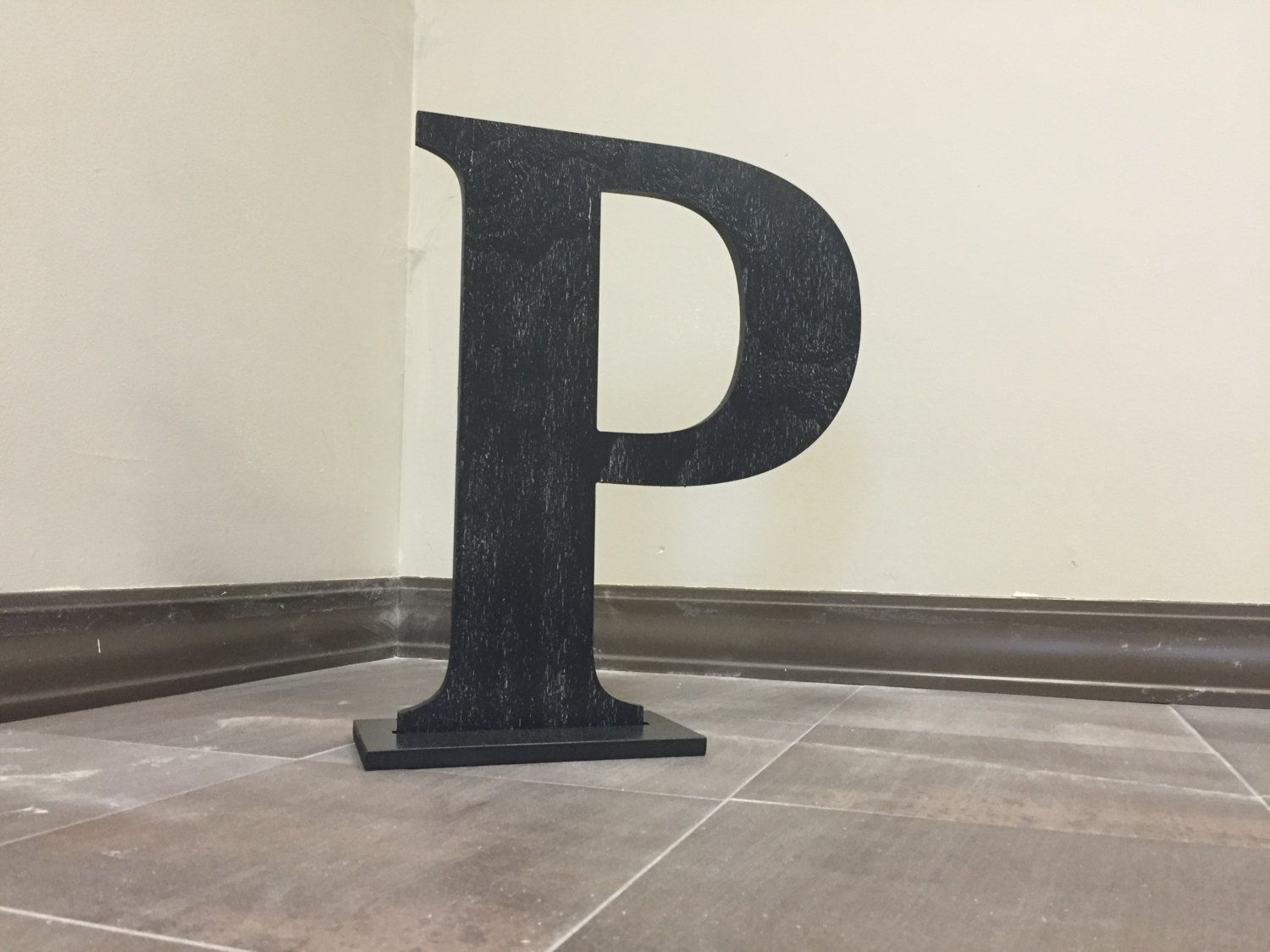 Ordinaire Rustic Letter P, Large Free Standing Monogram Letter, Home Letter Decor,  Wall Hanging