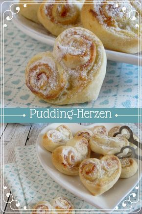 Pudding-Herzen | Cookie und Co