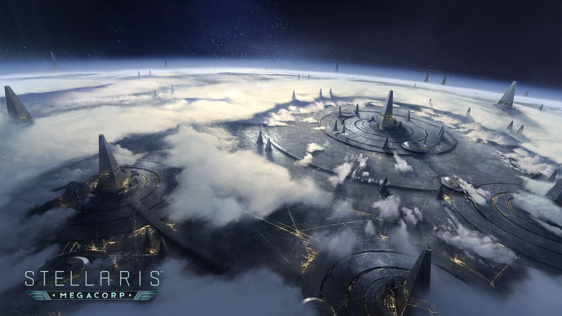 Image result for stellaris artwork megacorp | New Vegas II | Game