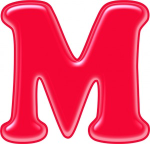Красивые картинки буквы М — детские, раскраски, трафарет ...